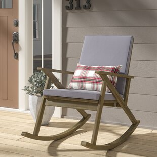Ossu Outdoor Rocking Chair with Cushions