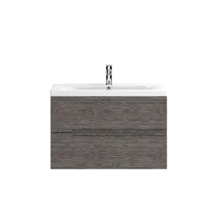 Urban 805mm Wall Mount Vanity Unit By Hudson Reed