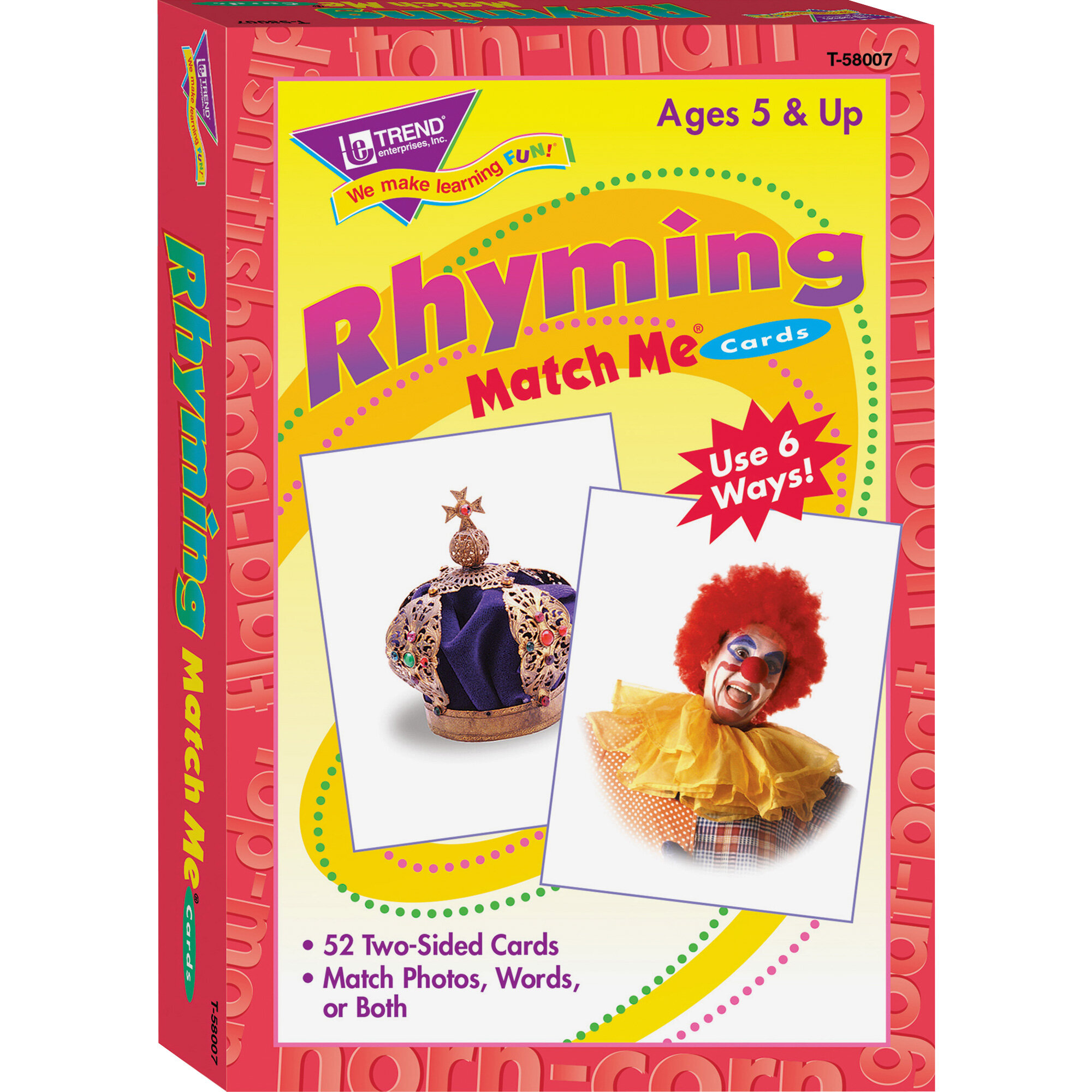 Alphabet Match Me Flash Cards