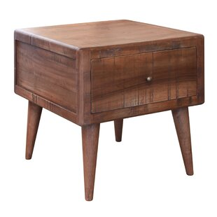 Union Rustic Markley 1 Drawer End Table