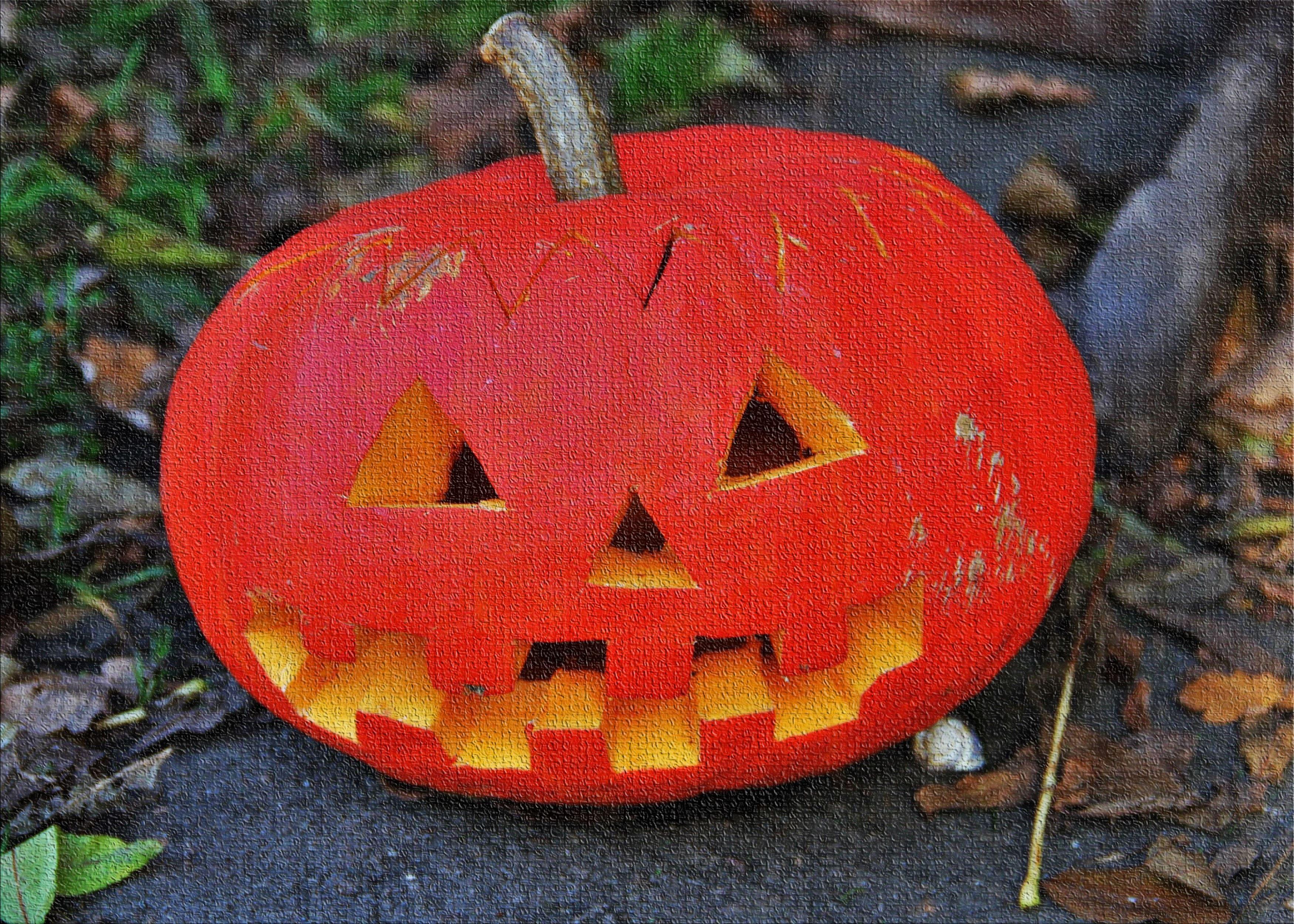 East Urban Home Pumpkin Head Cotton Red Area Rug Wayfair