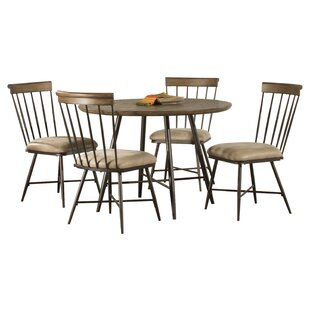 Bonella 5 Piece Round Dining Set August Grove