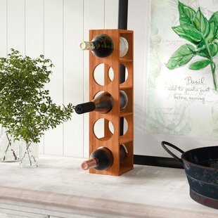 Beula 5 Bottle Wall Mounted Wine Rack by ..