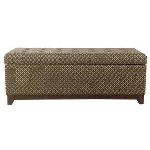 Mistana Roselyn Wood Storage Bench