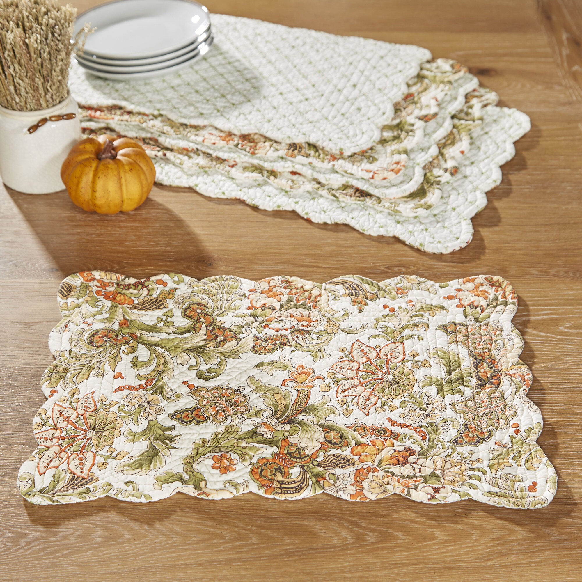 Esser Reversible 19 Cotton Placemat Reviews Birch Lane