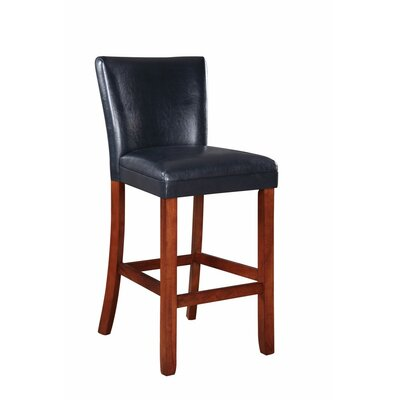 Strange Gaier Faux Leather Bar Stool Red Barrel Studio Alphanode Cool Chair Designs And Ideas Alphanodeonline
