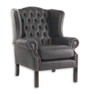 Rentz Wingback Chair Rosalind Wheeler Upholstery: Birch Biscuit