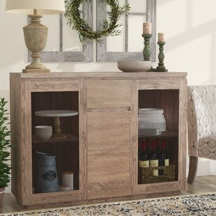 Gracie Oaks Abril Contemporary Buffet Table