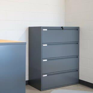 700 Series 4-Drawer Vertical Filling Cabinet by KI Furniture