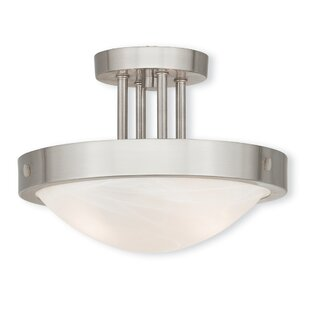 Ann 2-Light Semi Flush Mount by Latitude Run