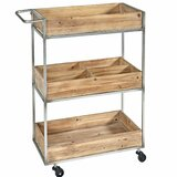 Trevino 3 Tier Kitchen Cart by 17 Stories