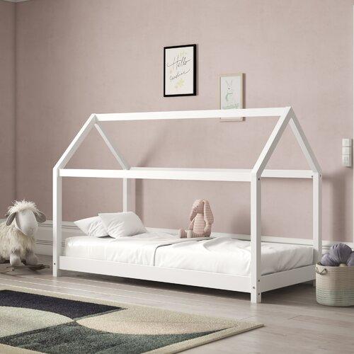 Kinderbett Sampson| 90 x 200 cm Harriet Bee Farbe (Bettgestell): Weiß | Kinderzimmer > Kinderbetten > Kinderbetten | Harriet Bee