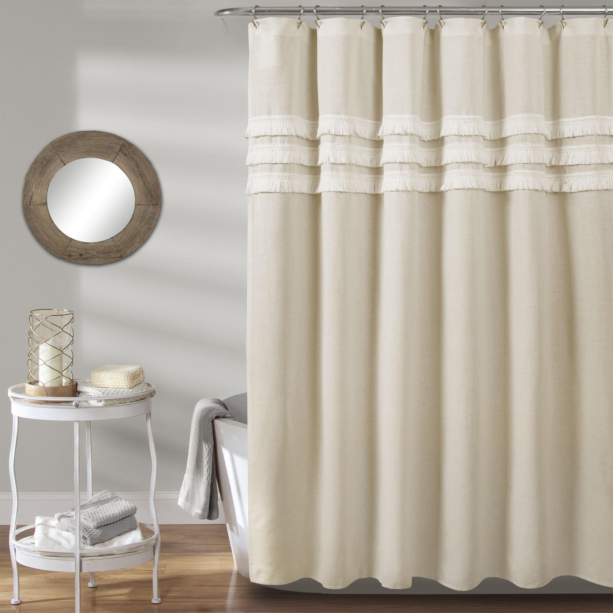Marzano Linen Shower Curtain