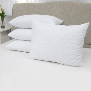 Zachary Quilted Memory Foam Standard Pillow (Set of 4)