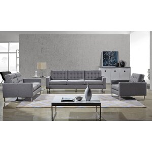 Angela 3 Piece Living Room Set