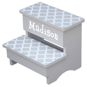 Trellis Personalized Step Stool by Renditions by Reesa