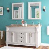 Willett 61 Double Bathroom Vanity Set by Alcott Hill