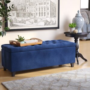 bench for living room. Bretton Upholstered Storage Bench Benches You ll Love  Wayfair