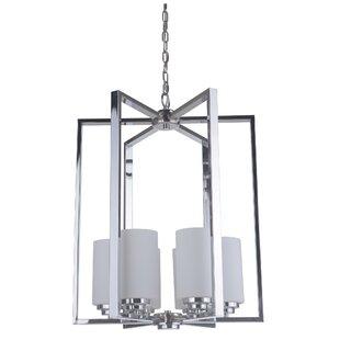 Best Deals Keisuke 6-Light Geometric Chandelier By Latitude Run