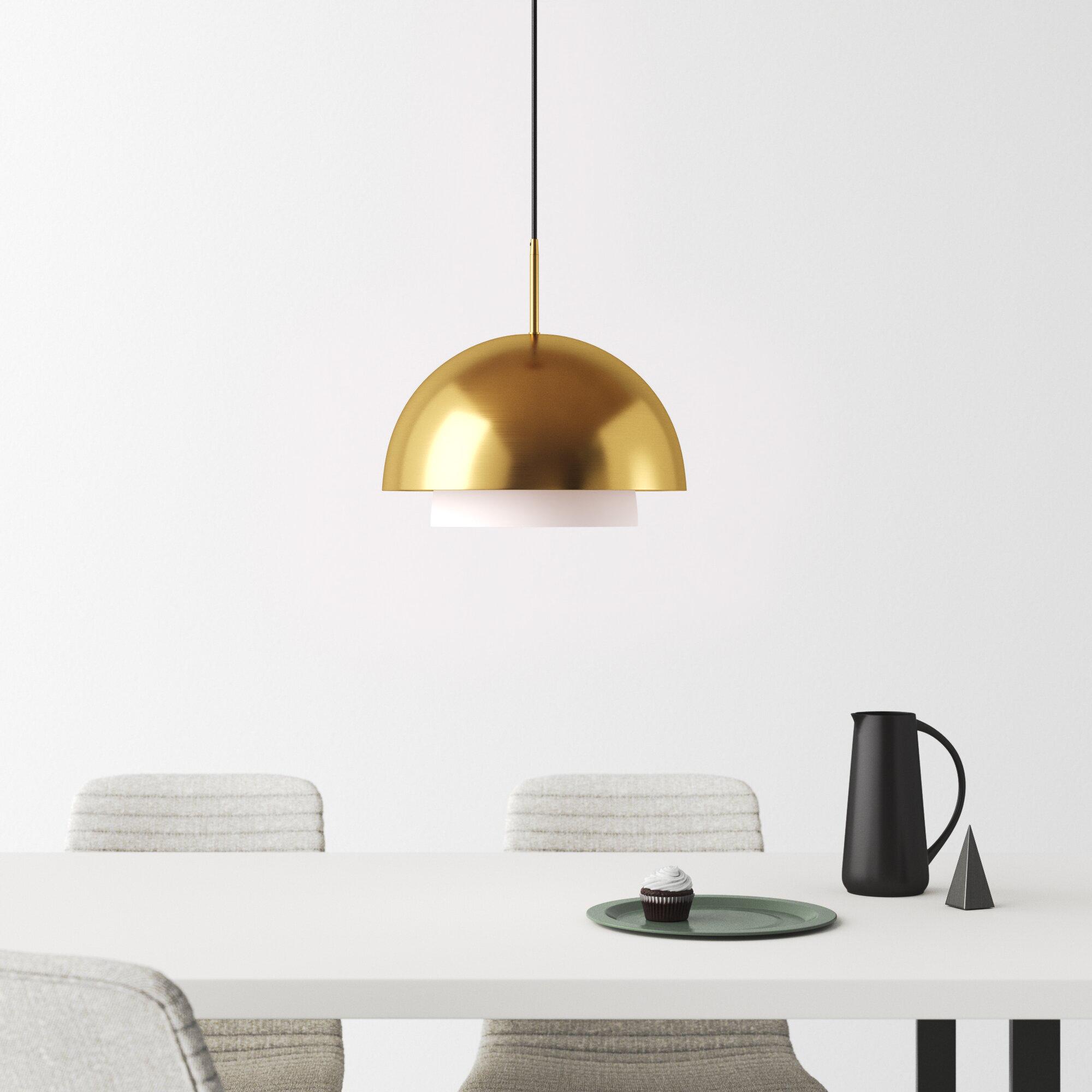 Modern Dome Pendant Lighting Allmodern