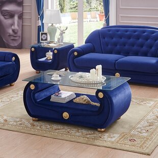 Everly Quinn Alleyne 2 Piece Coffee Table Set