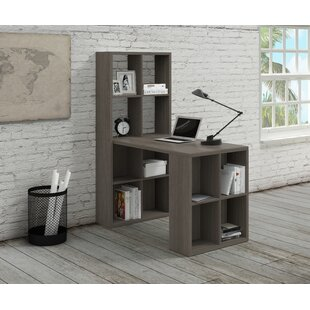 Izora Writing Desk with Bookcase