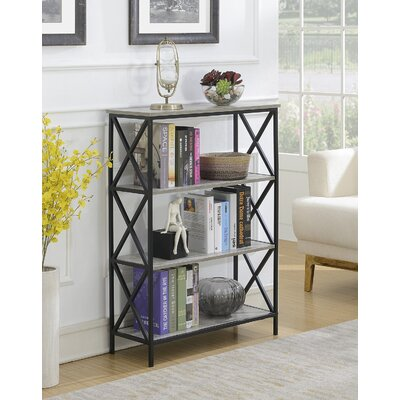 Abbottsmoor Etagere Bookcase Color: Faux Birch by Andover Mills