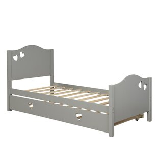 Farnung Twin Bed with Trundle by Harriet Bee