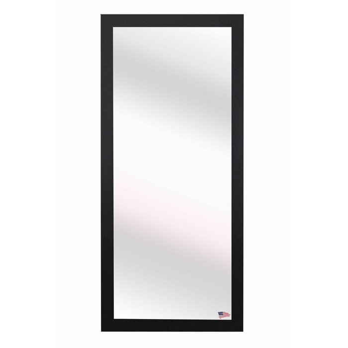 Rectangle Black Full Length Wall Mirror