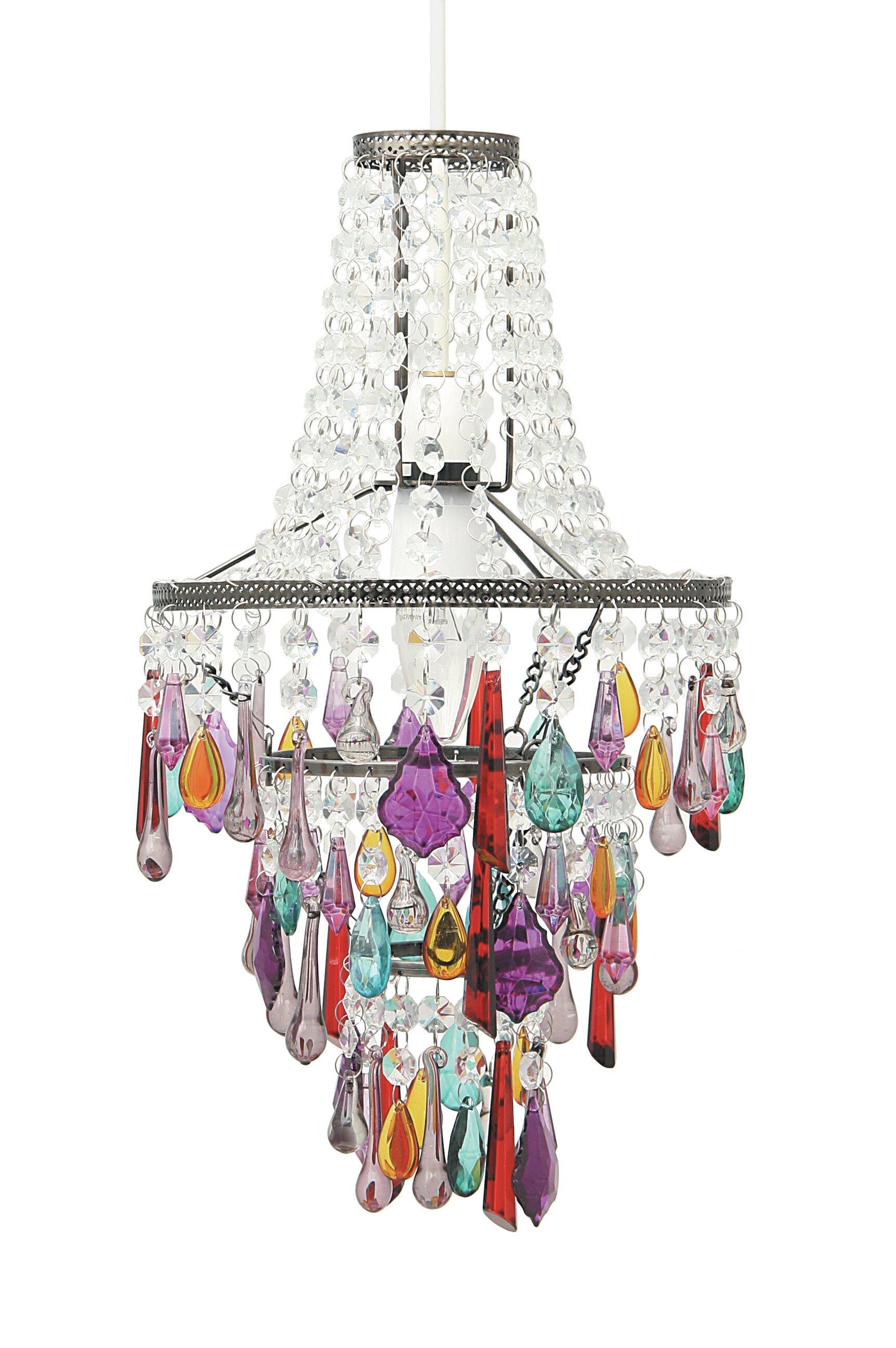 Latitude vive 225cm chandelier lamp shade reviews wayfair aloadofball Images