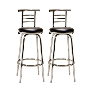 Icterine 74cm Swivel Bar Stool (Set Of 2) By Metro Lane
