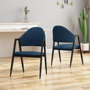 Grim Upholstered Dining Chair (Set of 2)