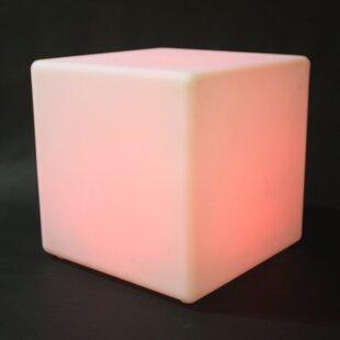 Beatrix LED Cube Decorative Stool By Ebern Designs