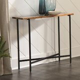 Delaine 36 Solid Wood Console Table by Foundry Select