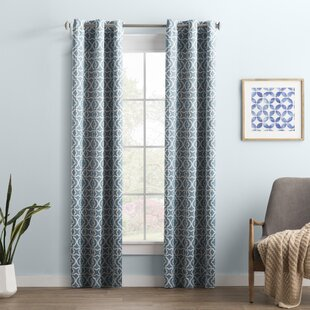 Wayfair Basics Trellis Blackout Grommet Single Curtain Panel by Wayfair Basics™