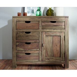 Nature 4 Drawer Combi Chest By Massivmoebel24