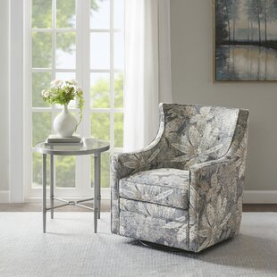 Inexpensive Weslaco Curve Back Swivel Glider by Harriet Bee