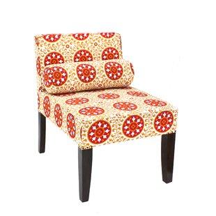 Divine Home Isabelle Slipper Chair