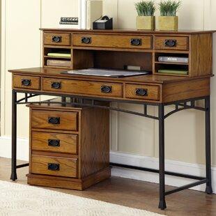 Senda Desk with Hutch