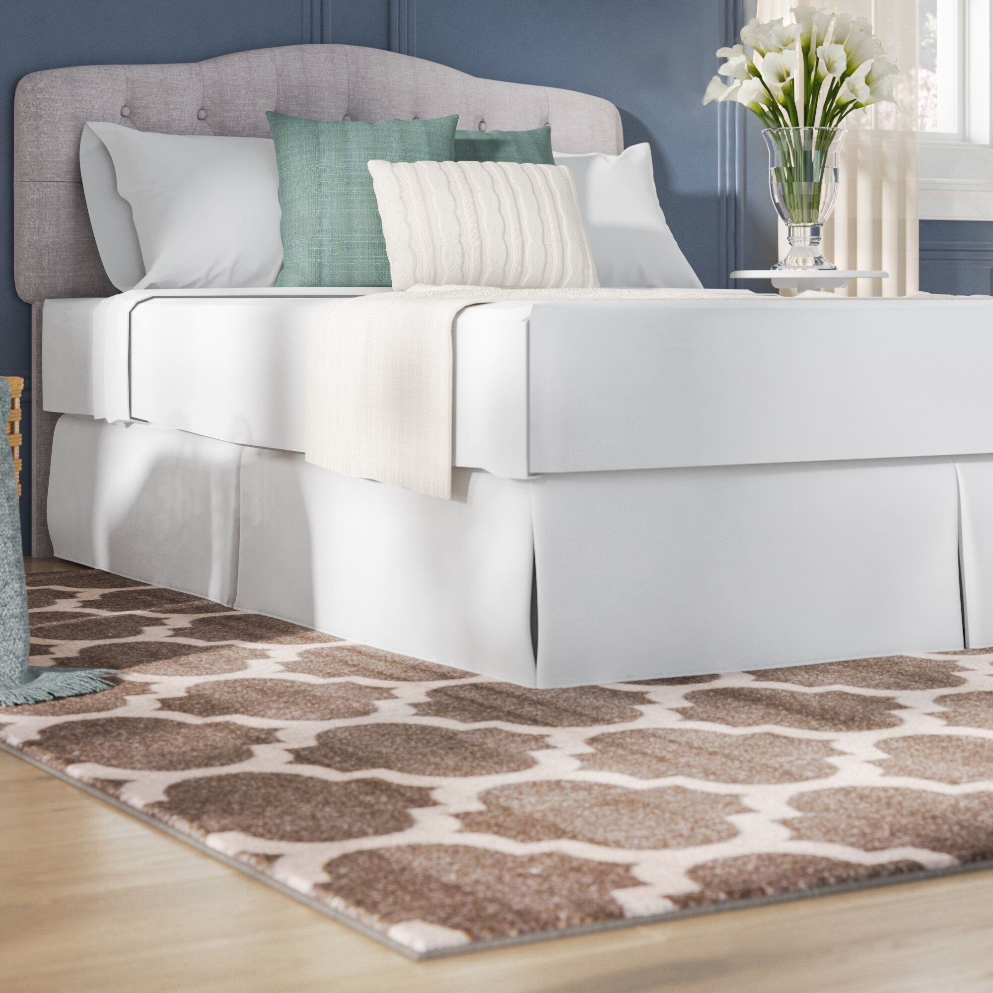 White Bed Skirts You Ll Love In 2020 Wayfair