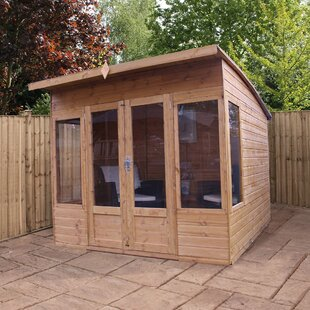 Royalston 8 X 8 Ft. Shiplap Summer House By Sol 72 Outdoor
