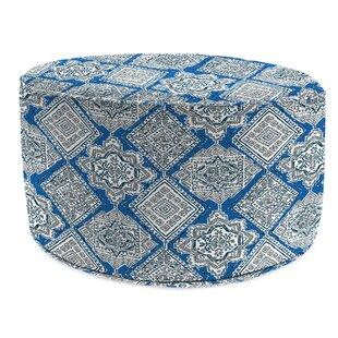Winston Porter Wills Bead Fill Pouf Ottoman with Cushion