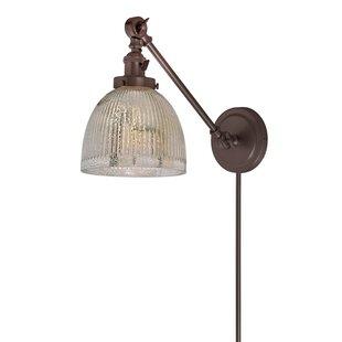 Gracie Oaks Martucci Double Swivel 1-Light Swing Arm Lamp