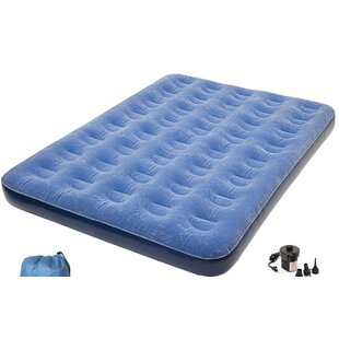 Pure Comfort Full Size Air Mattress with Battery Pump by Pure Comfort