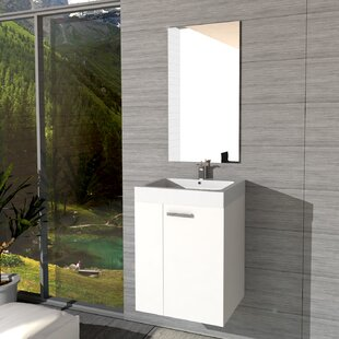 Granogue Bathroom 450mm Wall Hung Single Vanity Unit By 17 Stories