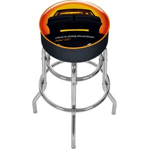 Trademark Global Pontiac 31 Swivel Bar Stool