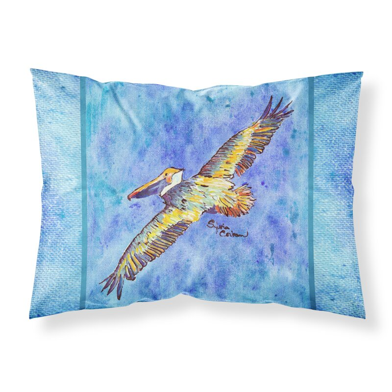 Highland Dunes Tanya Pelican Pillowcase Wayfair