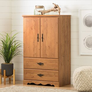 Prairie Storage Armoire with Two Drawers