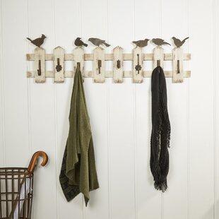 Picket Fence Coat Hooks by Birch Lane?