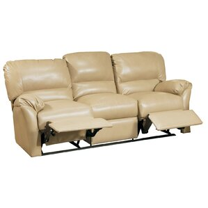 Mandalay Leather Reclining Sofa by Omnia Leather